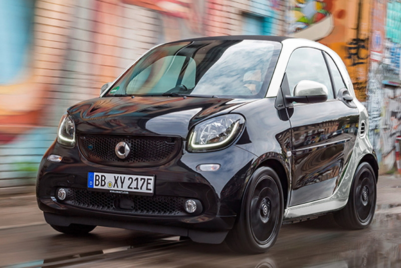 2019 Smart EQ Fortwo electric car