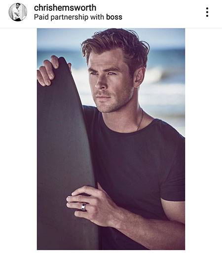 Chris Hemsworth Instagram