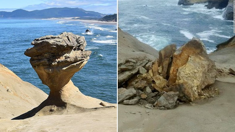 Oregon Formation tourist attraction doesn't exist