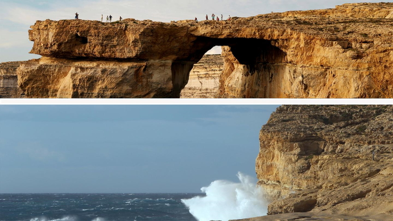 The Azure Window lost tourist attractions