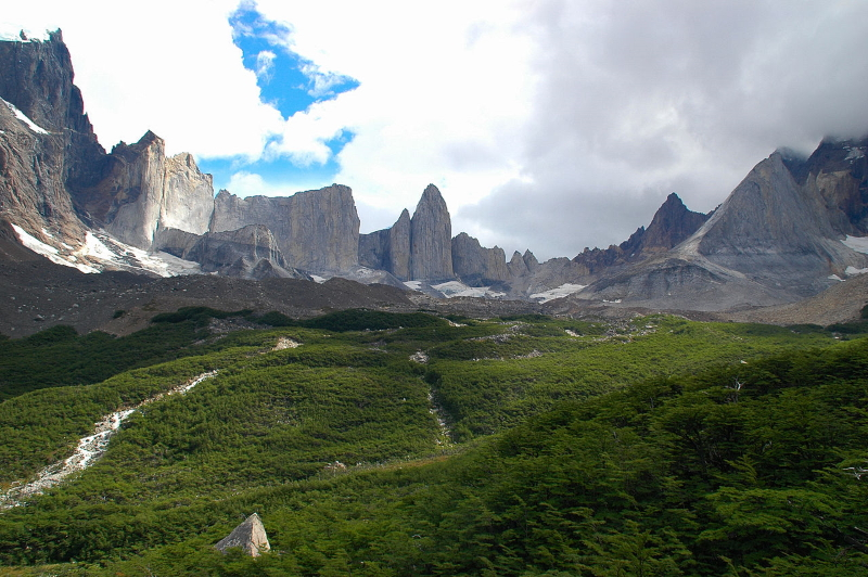Torres Del Paine National Park before