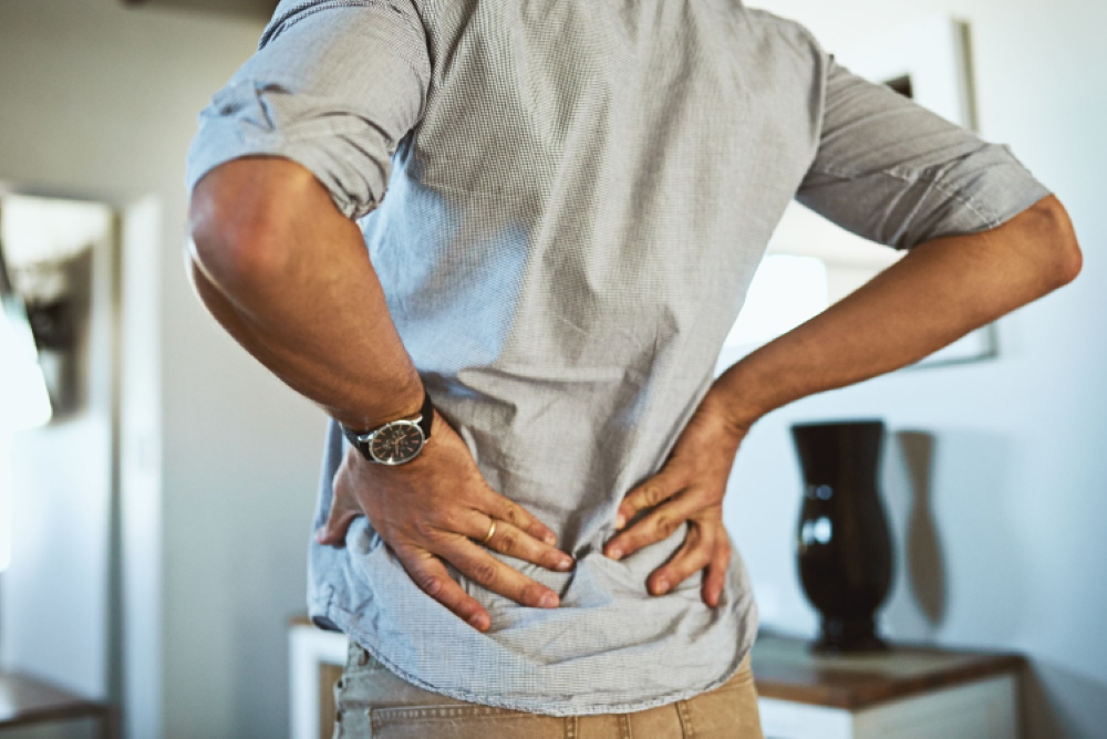 Bad habits that cause back pain