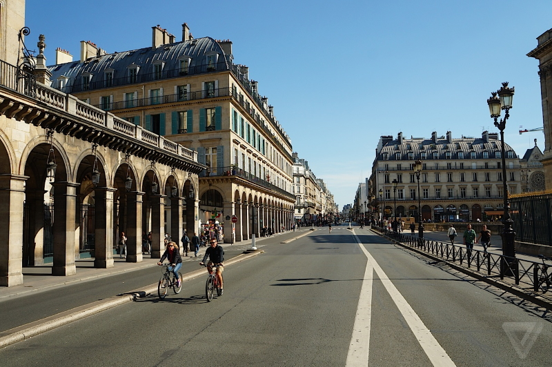 car free paris