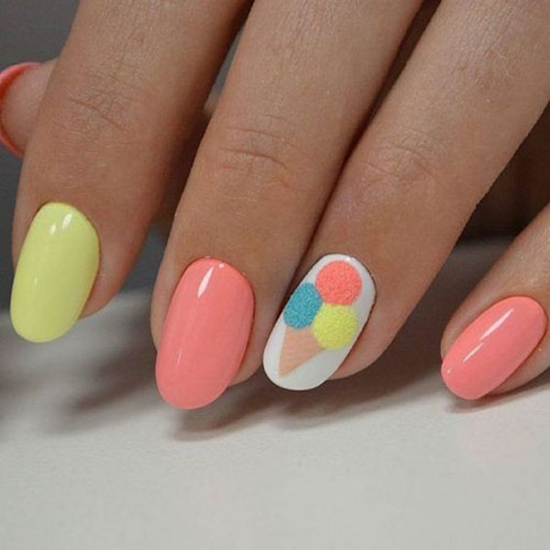 finger nail design