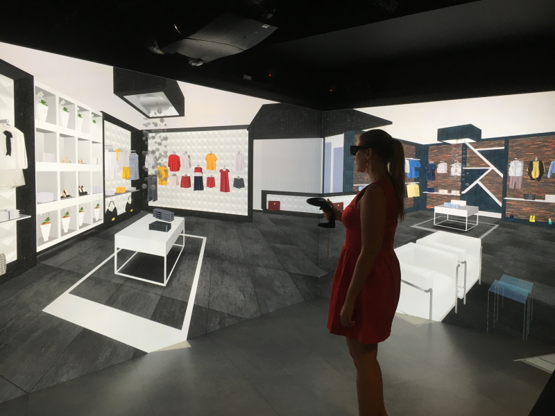 future of shopping VR