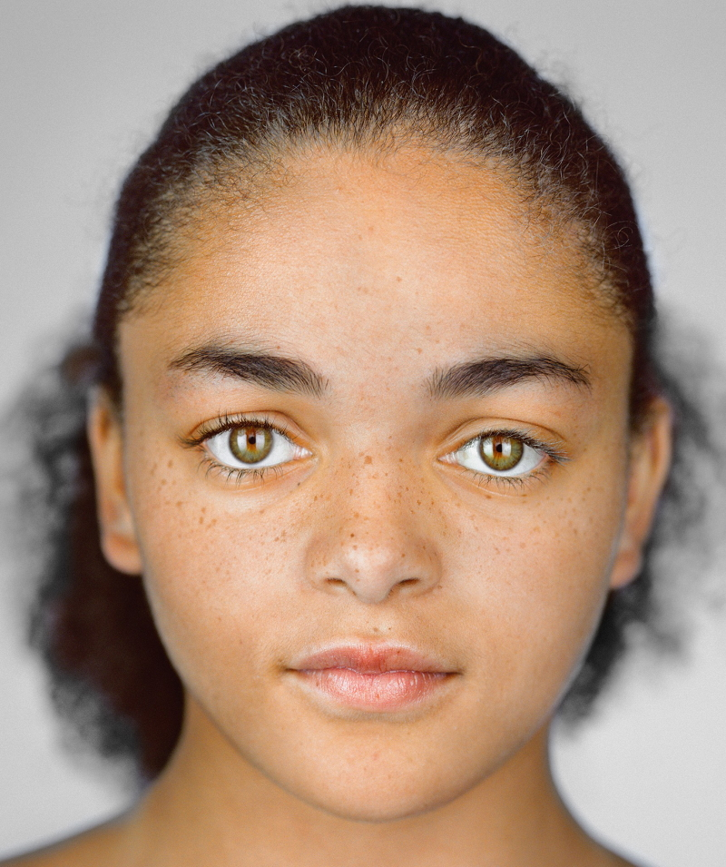 human races in the world in 2050